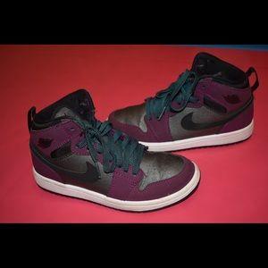 Purple Air Jordan Sneakers | Kids' Shoes | Girls